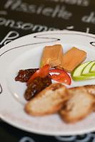 Europe/France/Rhône-Alpes/42/Loire/Saint-Etienne: Foie gras et son chutney  - restaurant: Corne d'Aurochs