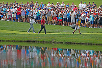 Tiger Woods (USA) walks the 3rd hole during the final round of the 100th PGA Championship at Bellerive Country Club, St. Louis, Missouri, USA. 8/12/2018.<br /> Picture: Golffile.ie | Brian Spurlock<br /> <br /> All photo usage must carry mandatory copyright credit (&copy; Golffile | Brian Spurlock)