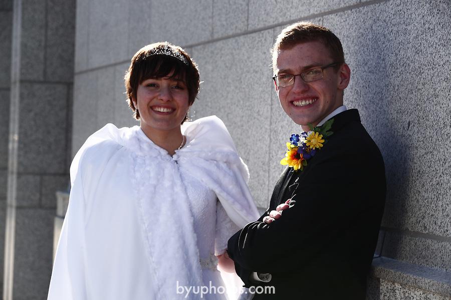 JSW 1711 Anderson Wedding 641<br /> <br /> JSW 1711 Anderson Wedding<br /> <br /> Derek and Becky Anderson - Draper Temple<br /> <br /> December 28, 2017<br /> <br /> Jaren Wilkey/BYU<br /> <br /> &copy; BYU PHOTO 2017<br /> All Rights Reserved<br /> photo@byu.edu  (801)422-7322