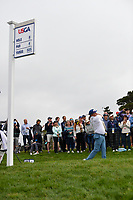 Jason Dufner (USA) watches his tee shot on 9 during round 1 of the 2019 US Open, Pebble Beach Golf Links, Monterrey, California, USA. 6/13/2019.<br /> Picture: Golffile | Ken Murray<br /> <br /> All photo usage must carry mandatory copyright credit (© Golffile | Ken Murray)