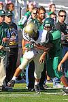 Torrance, CA 10/06/11 - Takuma Takahashi (Peninsula #21) in action during the Peninsula vs South Torrance Frosh football game.