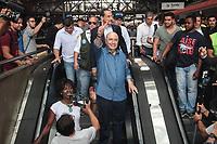 SÃO PAULO,SP, 01.10.2018 - ELEIÇÕES-2018 - Henrique Meirelles, candidato do MDB durante visita à linha 7 Rubi da CPTM na região oeste de São Paulo nesta segunda-feira, 01. (Foto: Marcio Ribeiro/Brazil Photo Press)