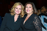 "NEW YORK - NOVEMBER 14: Bonnie Hunt and Catherine Scott attend the party following the premiere of Showtime's limited series ""Escape at Dannemora"" at Alice Tully Hall in Lincoln Center on November 14, 2018 in New York City. (Photo by Jason Mendez/Showtime/PictureGroup)"