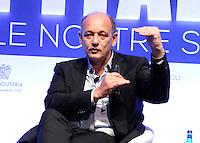 Enrico Gasperini ( digital magics ) durante il XXIX convegno di Capri per Napoli   dei  Giovani Industriali a Citta della Scienza , 25 Ottobre 2014
