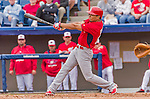 7 March 2015: St. Louis Cardinals outfielder Rafael Ortega in Spring Training action against the Washington Nationals at Space Coast Stadium in Viera, Florida. The Cardinals fell to the Nationals 6-5 in Grapefruit League play. Mandatory Credit: Ed Wolfstein Photo *** RAW (NEF) Image File Available ***