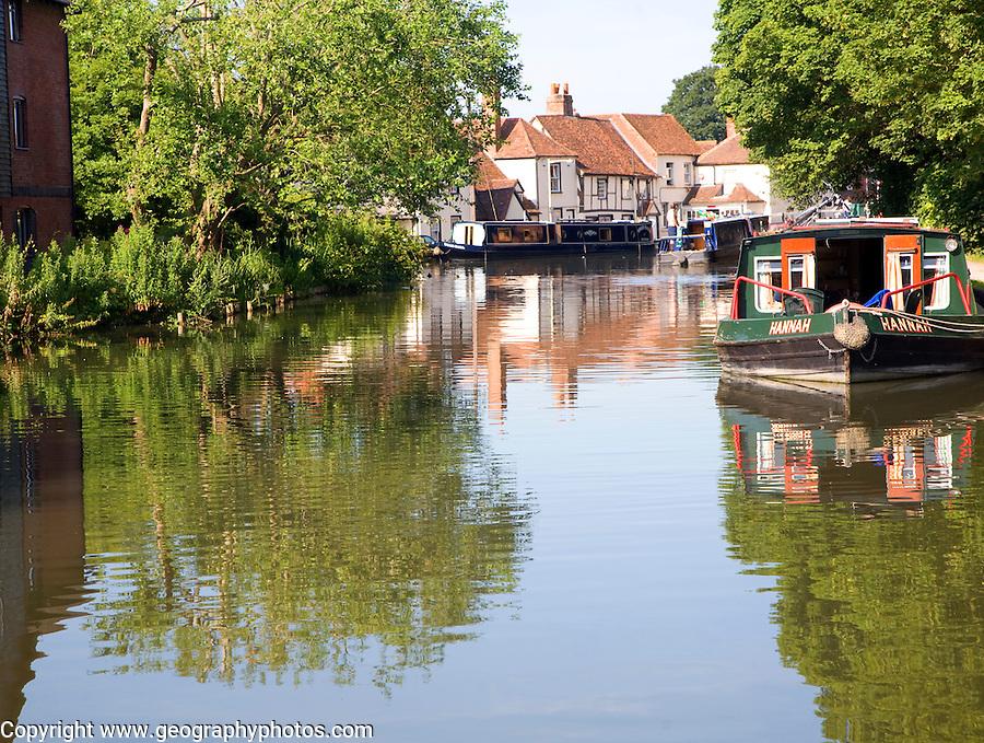 Kennet and Avon canal, Newbury lock, Newbury, Berkshire, England