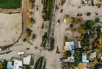 View of train tracks, railroad on its way through the ejido la Victoria.<br /> &nbsp; (Photo: Luis Gutierrez / NortePhoto.com)<br /> Vista de vias de tren, ferrocarril en su paso por el ejido la Victoria. <br />  (Foto: Luis Gutierrez / NortePhoto.com)
