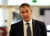 Swansea manager Paul Clement arrives prior to the game during the Premier League match between West Ham United v Swansea City at the London Stadium, London, England, UK. Saturday 30 September 2017