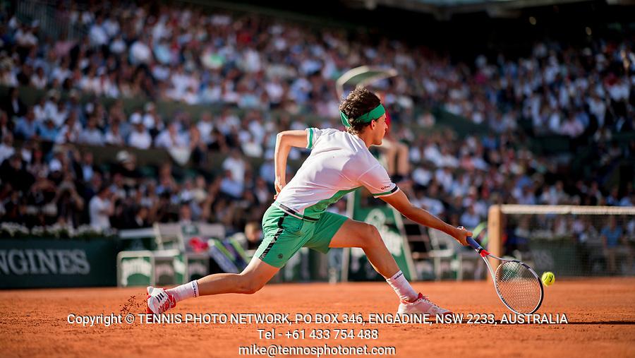 DOMINIC THIEM (AUT)<br /> <br /> TENNIS - FRENCH OPEN - ROLAND GARROS - ATP - WTA - ITF - GRAND SLAM - CHAMPIONSHIPS - PARIS - FRANCE - 2017  <br /> <br /> <br /> <br /> &copy; TENNIS PHOTO NETWORK