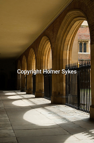 Eton college school, the cloisters. Eton near nr Windsor Berkshire. England 2006