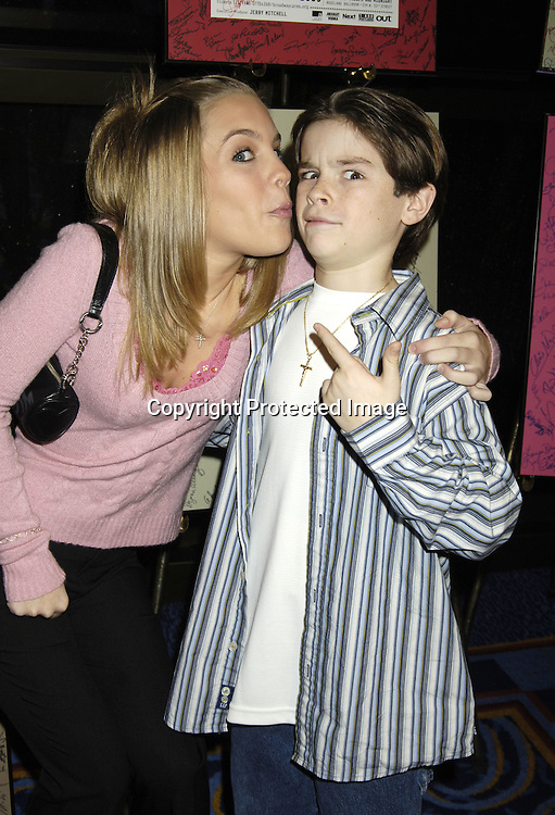 "Kristen and Eddie Alderson of One Life To Live ..at "" An Intimate Evening with Your Favorite Daytime and Broadway Stars"" benefitting The Jane Elissa/ Charlotte Meyers Endowment Fund for Leukemia/Lymphoma Research on October 24, 2005 at The Marriott Marquis Hotel. ..Photo by Robin Platzer, Twin Images"