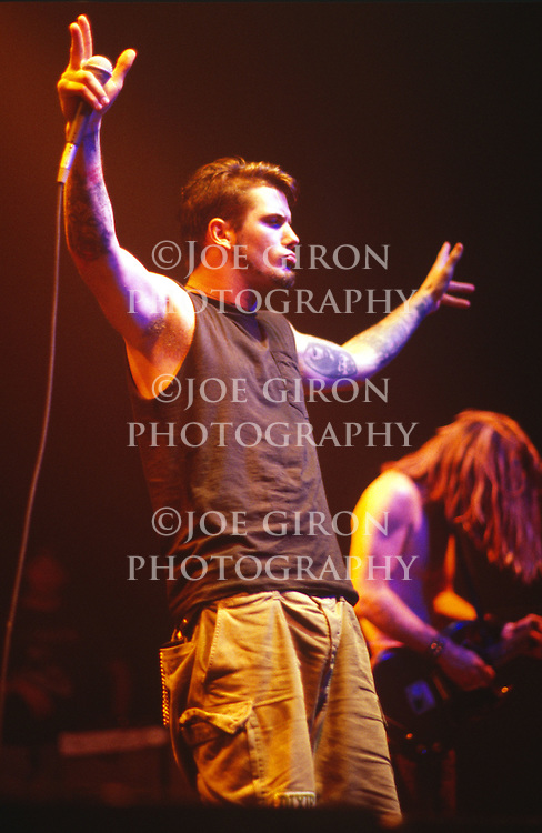 Various portrait sessions and live photographs of the rock band, Down