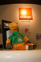 NORM HANGS OUT WITH TEAM ORANGE: The Alltech FEI World Equestrian Games<br /> 2014 In Normandy - France CREDIT: Libby Law COPYRIGHT: LIBBY LAW PHOTOGRAPHY - NZL