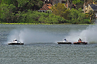 "(L to R):Joe Longo, S-146 ""Willard Wilson's Lil' Lectron II"", Bobby Kennedy,S-88 ""Playin Again"" and Gene DeFalco, S-80 ""On The Edge"" (2.5 Litre Stock hydroplane(s)"