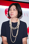 Keiko Hamada, editor-in-chief of AERA attends the ''ELLE Women in Society'' event on July 13, 2015, Tokyo, Japan. The event promotes the working women's roll in Japanese society with various seminars where top businesswomen, musicians, writers and other international celebrities speak about the working women's roll in the world. By 2020 Prime Minister Shinzo Abe's administration aims to increase the percentage of women in leadership positions to 30% in Japan. (Photo by Rodrigo Reyes Marin/AFLO)