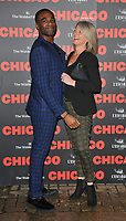 Ore Oduba and guest at the &quot;Chicago&quot; press night, Phoenix Theatre, Charing Cross Road, London, England, UK, on Wednesday 11 April 2018.<br /> CAP/CAN<br /> &copy;CAN/Capital Pictures