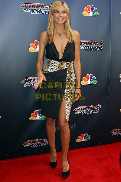 Hollywood, CA - April 22: Heidi Klum Attending NBC's 'America's Got Talent' Red Carpet Event At Dolby Theatre  California on April 22, 2014. <br /> CAP/MPI/RTNUPA<br /> &copy;RTNUPA/MPI/Capital Pictures