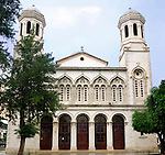 Orthodox cathedral of Agia Napa in Limassol, Cyprus.