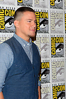 "SAN DIEGO - July 20:  Channing Tatum at the ""Kingsman: The Golden Circle"" Photocall at the Comic-Con International on July 20, 2017 in San Diego, CA"