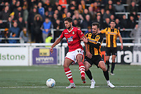 Rekeil Pyke of Wrexham, currently on loan from Huddersfield Town, in action during Maidstone United vs Wrexham, Vanarama National League Football at the Gallagher Stadium on 17th November 2018