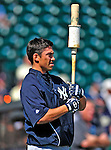 11 March 2009: New York Yankees' infielder Doug Bernier prepares to take batting practice prior to a Spring Training game against the Detroit Tigers at Joker Marchant Stadium in Lakeland, Florida. The Tigers defeated the Yankees 7-4 in the Grapefruit League matchup. Mandatory Photo Credit: Ed Wolfstein Photo