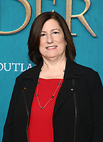 "HOLLYWOOD, CA - FEBRUARY 13: Toni Graphia, at the Premiere Of Starz's ""Outlander"" Season 5 at HHollywood Palladium in Hollywood California on February 13, 2020. Credit: Faye Sadou/MediaPunch"
