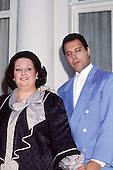 Sep 24, 1987: FREDDIE MERCURY and MONTSERRAT CABALLE - London