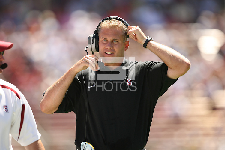 1 September 2007: D.J. Durkin during Stanford's 45-17 loss to the UCLA Bruins at Stanford Stadium in Stanford, CA.