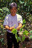 Frankie's Nursery, Frankie Sekiya with fruit tree