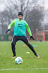 10.01.2018, Trainingsgelaende, Bremen, GER, 1.FBL, Training SV Werder Bremen<br /> <br /> im Bild<br /> Ishak Belfodil (Werder Bremen #29), <br /> <br /> Foto &copy; nordphoto / Ewert