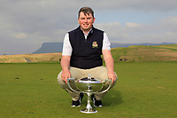Caolan Rafferty (Dundalk) winner of The West of Ireland Open Championship in Co. Sligo Golf Club, Rosses Point, Sligo on Sunday 7th April 2019.<br /> Picture:  Thos Caffrey / www.golffile.ie