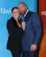 09 January 2018 - Pasadena, California - Stephanie McMahon, Paul &quot;Triple H&quot; Levesque. 2018 NBCUniversal Winter Press Tour held at The Langham Huntington in Pasadena. <br /> CAP/ADM/BT<br /> &copy;BT/ADM/Capital Pictures
