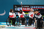 Pyeongchang, Korea, 17/3/2018-Ian Forrest competes in the bronze medal game of wheelchair curling during the 2018 Paralympic Games. Photo: Scott Grant/Canadian Paralympic Committee.