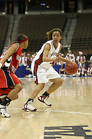 18 March 2006: Rosalyn Gold-Onwude during Stanford's 72-45 win over Southeast Missouri State in the first round of the NCAA Women's Basketball championships at the Pepsi Center in Denver, CO.