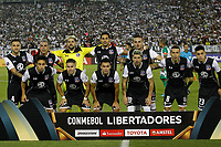 SANTIAGO DE CHILE - CHILE - 27 - 02 - 2018: Los Jugadores de Colo Colo (CHL) posan para una foto, durante partido de la Fase de Grupos, grupo 2, fecha 1 entre Colo Colo (CHL) y Atletico Nacional (COL), por la Copa Conmebol Libertadores 2018 en el estadio Monumental David Arellano, de la ciudad de Santiago de Chile. / The players of Independiente Del Valle of Rcuador, pose for a photo during match of the Group Stage, group 2, 1st date between Colo Colo (CHL) and Atletico Nacional (COL) for Copa Conmebol Libertadores 2018 at the David Arellano Monumental Stadium, in the city of Santiago de Chile. Photos: VizzorImage / Marcelo Hernandez / Cont. / Photosport