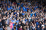 St Johnstone v Alashkert FC...09.07.15   UEFA Europa League Qualifier 2nd Leg<br /> Happy saints fans<br /> Picture by Graeme Hart.<br /> Copyright Perthshire Picture Agency<br /> Tel: 01738 623350  Mobile: 07990 594431