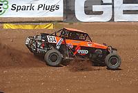 Apr 17, 2011; Surprise, AZ USA; LOORRS driver Zachary Hunt (334) during round 4 at Speedworld Off Road Park. Mandatory Credit: Mark J. Rebilas-