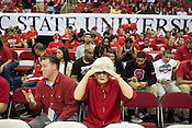 Wolfpack Fans, PNC Arena, Raleigh, NC, Jan. 12, 2013.