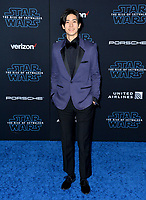 """LOS ANGELES, USA. December 17, 2019: Yuto Nakajima at the world premiere of """"Star Wars: The Rise of Skywalker"""" at the El Capitan Theatre.<br /> Picture: Paul Smith/Featureflash"""