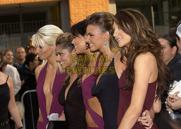 "GIRLS ALOUD.ITV's ""The Celebrity Awards"".London 26 September 2004.half length, girl band, plunging necklines.www.capitalpictures.com.sales@capitalpictures.com.©Capital Pictures"