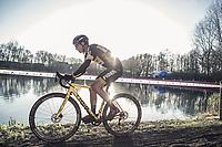 Jim Aernouts (BEL/Telenet Fidea Lions)<br /> <br /> men's elite race<br /> Flandriencross Hamme / Belgium 2017
