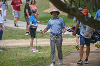 Joel Dahmen (USA) makes his way to the tee on 2 during day 2 of the Valero Texas Open, at the TPC San Antonio Oaks Course, San Antonio, Texas, USA. 4/5/2019.<br /> Picture: Golffile | Ken Murray<br /> <br /> <br /> All photo usage must carry mandatory copyright credit (&copy; Golffile | Ken Murray)