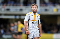 Ruaridh Jackson of Wasps looks on during a break in play. Aviva Premiership match, between Bath Rugby and Wasps on February 20, 2016 at the Recreation Ground in Bath, England. Photo by: Patrick Khachfe / Onside Images