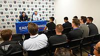 SAN JOSE, CA - JULY 16:  The San Jose Earthquakes introduce Carlos Fierro #21 on July 16, 2019 at Avaya Stadium in San Jose, California.