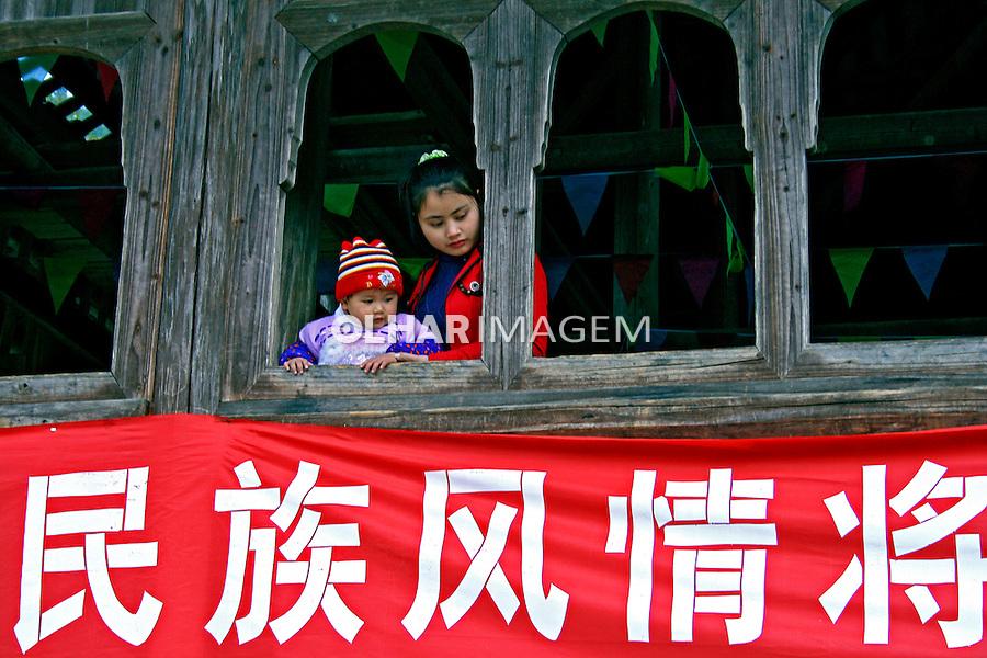 Centro de folclore chines em Liuzhou. China. 2007. Foto de Flãvio Bacellar.