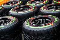 16th July 2020, Hungaroring, Budapest, Hungary; F1 Grand Prix of Hungary, drivers arrival and track inspection day;  Pirelli tyres