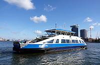 Nederland Amsterdam 2018 . IJveer 61 van Amsterdam Centrum naar Amsterdam Noord. Foto Berlinda van Dam / Hollandse Hoogte