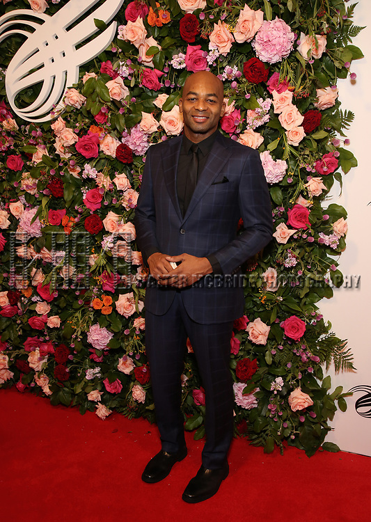Brandon Victor Dixon attends The American Theatre Wing's 2019 Gala at Cipriani 42nd Street on September 16, 2019 in New York City.
