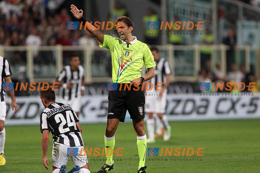 """Arbitro Paolo Tagliavento..Firenze 25/09/2012 Stadio """"Franchi""""..Football Calcio Serie A 2012/13..Fiorentina v Juventus..Foto Insidefoto Paolo Nucci.."""