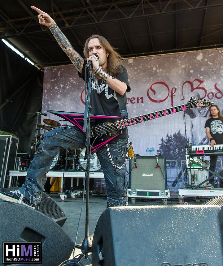 Children of Bodom at Mayhem Fest 2013 in Atlanta, GA.